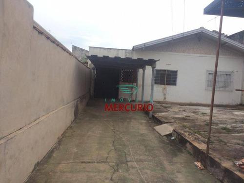 Casa Com 2 Dormitórios À Venda, 144 M² Por R$ 200.000,00 - Jardim Bela Vista - Bauru/sp - Ca2738