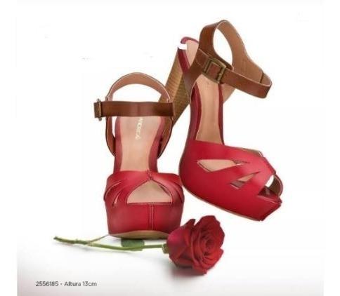 Zapatos Dama Correas Tacones Plataforma