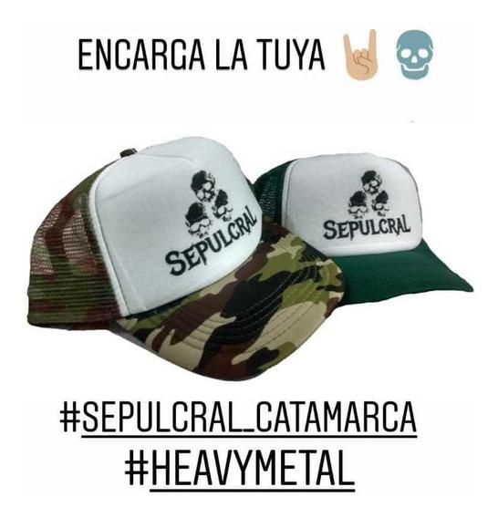 Gorra Banda Sepulcral (heavy Metal - Catamarca)