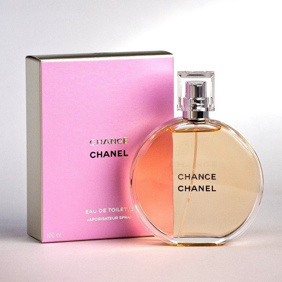 Perfume Chance Chanel Edt 100 Ml Original Caixa Aberta