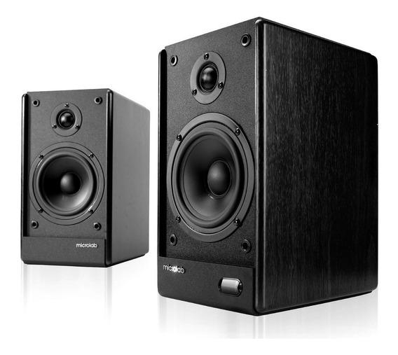 Microlab Caixa De Som Monitor De Audio Solo 5c 2.0 80w Rms