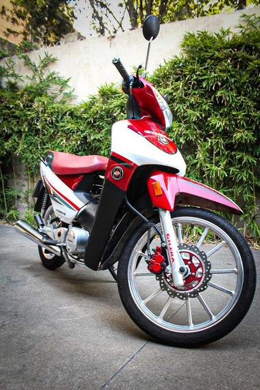 Gilera Smash 110cc Full Usada Freno Disco Balizas
