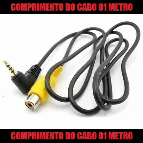 Cabo Adaptador Gps Camera Re P1 Rca Femea Dvd * 01 M E T R O