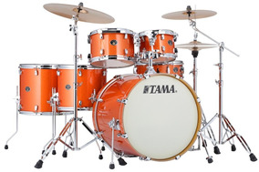 Bateria Tama Silverstar Birch Bright Orange Sparkle 22¨,10¨,