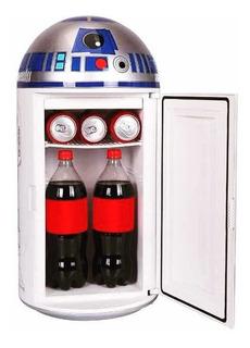 R2-d2 Star Wars Mini Refri Servibar R2 D2 80 Cms