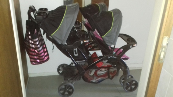 Cochecito Bebe Doble - Baby Trend Sit N Stand