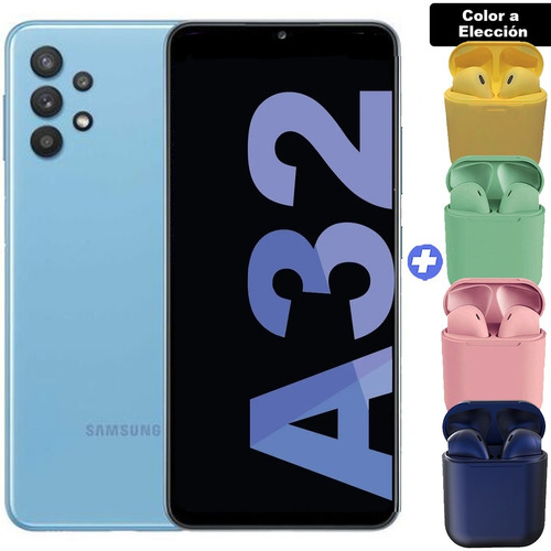 Celular Samsung Galaxy A32 6,4 128 Gb 4 Gb + Au Inalám