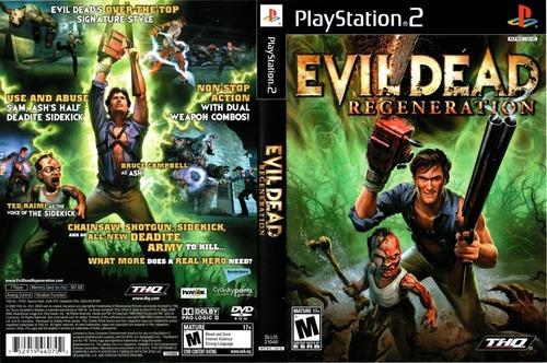 Ps2 Evil Dead Regeneration Legendado Playstation 2 - Patch