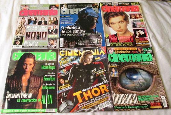 Revista Cinemania Varios Numeros Alien, Thor, Tarzan