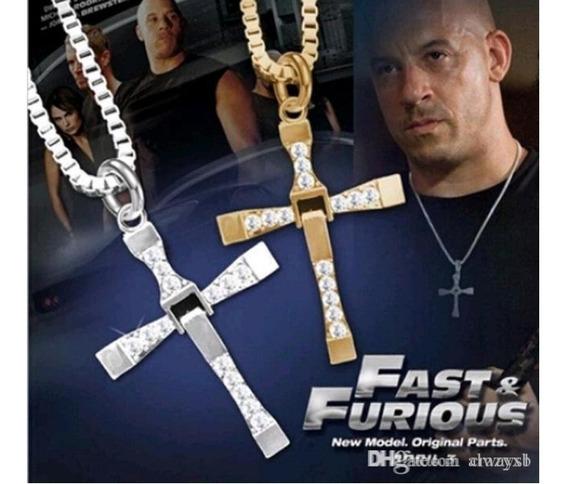 Colar Velozes E Furiosos Jóia Cordão Toretto Vin Diesel