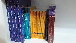 Coleção De Livros P/ Profissionoais E Estudante D Enfermagem