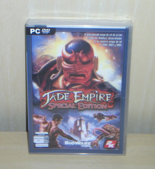 Jade Empire - Special Edition - Lacrado - Pc