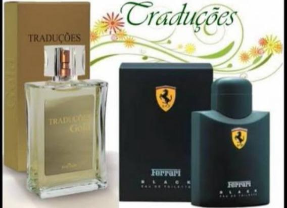 Perfume Hinode Gold Traduções Ferrari