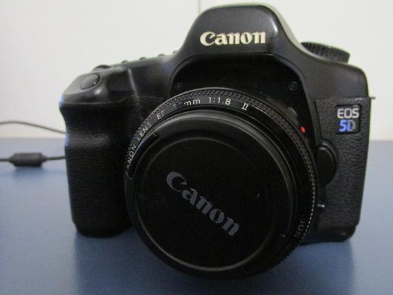 Canon 5d, Caixa Estanque, Lente 50 Mm Canon 1.8
