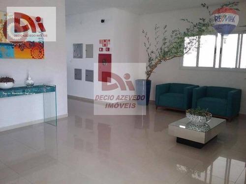 Apartamento Com 3 Dormitórios À Venda, 111 M² Por R$ 447.000,00 - Vila Jaboticabeira - Taubaté/sp - Ap0096