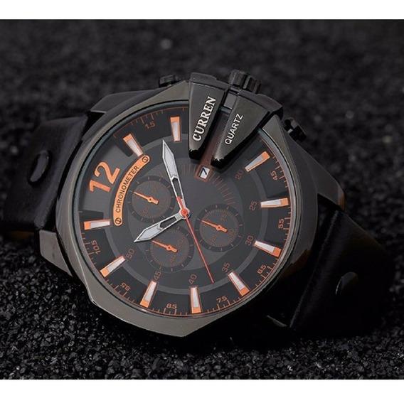 Relógio Masculino Social Sport Barato Quartz Ñ Automatic Aço