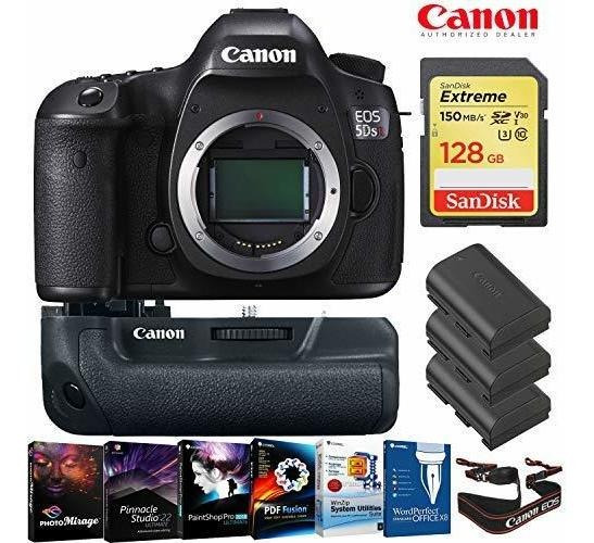 Camara Eos 5ds R Dslr Body Only 128gb Memory Card Bateria ®