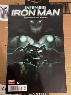 Infamous Iron Man #3 Editorial Televisa
