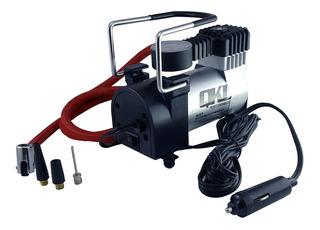 Kit Mini Compresor Aire Inflador Cubierta Moto Auto Ai57 Sti