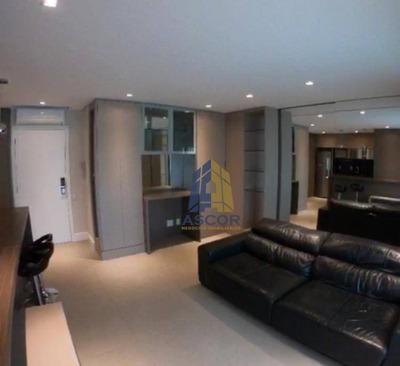 Apartamento Tipo Studio Para Alugar, 52 M² Por R$ 3.000/mês - Centro - Florianópolis/sc - Ap2466