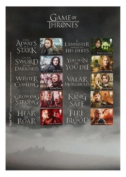 Inglaterra Games Of Thrones. 2018. Mint
