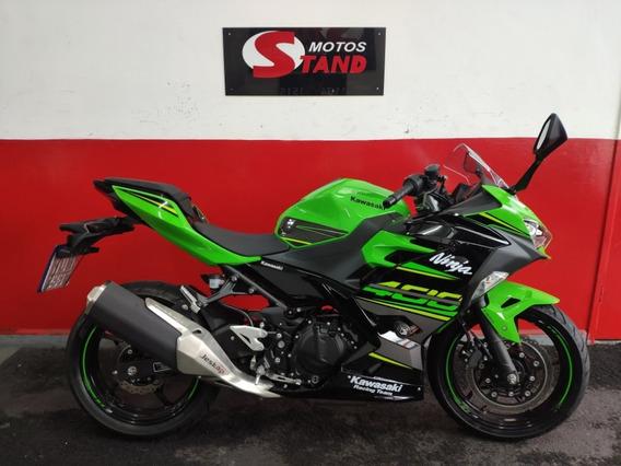 Kawasaki Ninja 400 Abs Edição Krt 2019 Verde