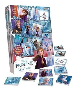 Juego De Memoria Memo Frozen 2 48 Fichas Babymovil