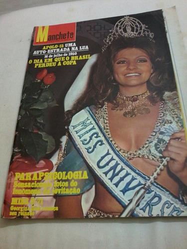 Manchete Miss U 71 Apolo 15 Vinicius De Moraes Copa 1950