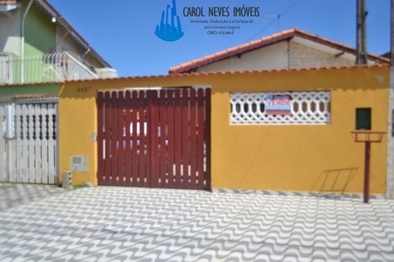 Casa Mongaguá 2 Dormitórios 100 Metros Da Praia - 3279
