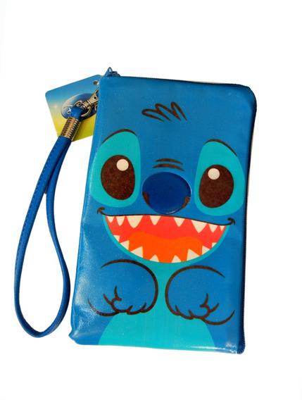 Bolsinha Estojo P Camera Celular Lilo Stitch Carteira Disney