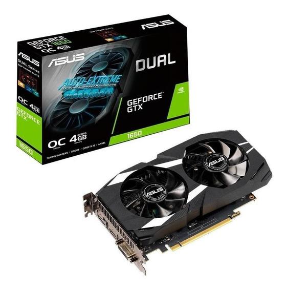 Placa de vídeo Nvidia Asus GeForce GTX 16 Series GTX 1650 DUAL-GTX1650-O4G OC Edition 4GB