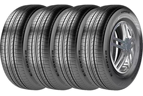 Kit 4 Pneus Bridgestone 185/65r15 Ep150 Ecopia