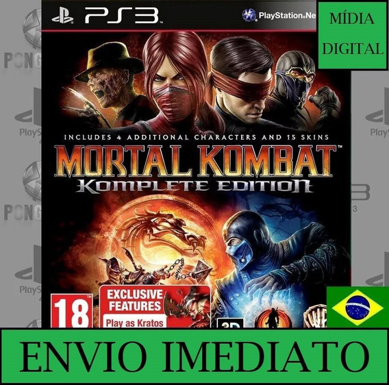 Mortal Kombat 9 Komplete Edition Ps3 Mídia Digital Psn