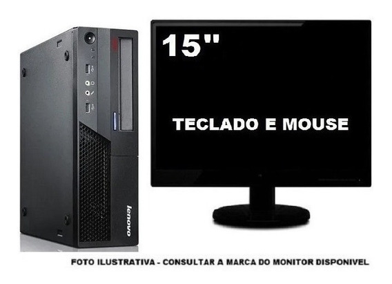 Lenovo Thinkcentre M58 Dualcore 4gb Ddr3 500gb