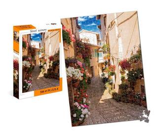 Puzzle 500 Piezas Calle Patio Italiano Ft325 E.full