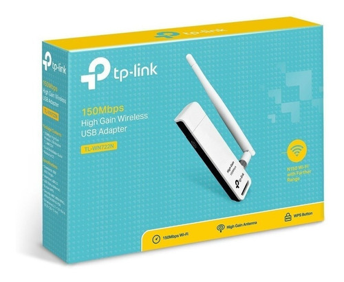 Adaptador Usb Wifi Tp-link Wn722n 150mb - Factura A / B
