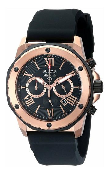 Relógio Masculino Bulova 98b104 Borracha