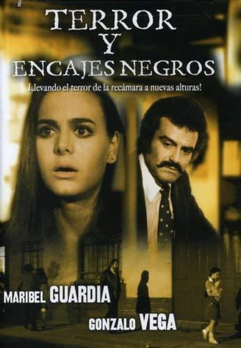 Imagen 1 de 3 de Terror Y Encajes Negros / Dvd / Maribel Guardia,gonzalo Vega