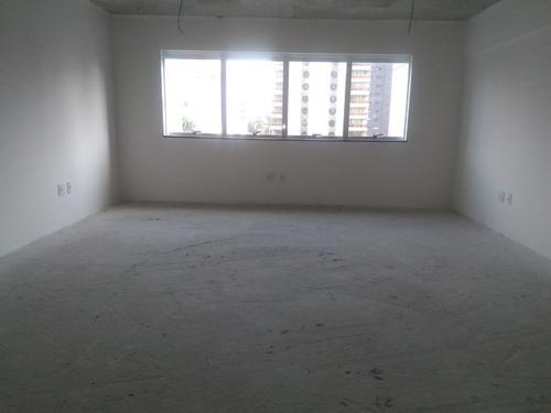Imagem 1 de 5 de Sala, 40 M² - Venda Por R$ 285.000,00 Ou Aluguel Por R$ 1.200,00/mês - Vila Bastos - Santo André/sp - Sa0803