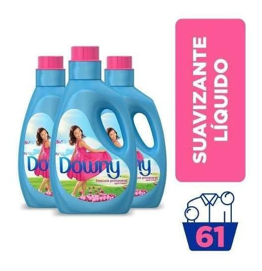 Pack X3 Suavizante Downy Semi-diluido April Fresh 2,95 Lts.