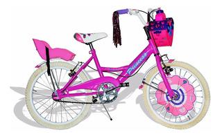Bici Princess De Nena, Rdo 20 Full, Pioneer-cuotas + Regalo