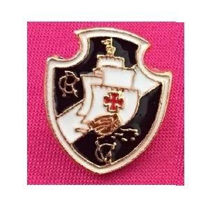 1 Botton Broche Pin De Futebol Vasco Da Gama