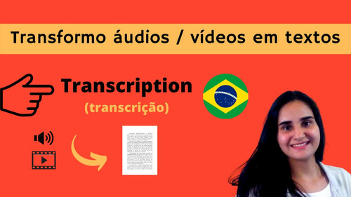 Imagem 1 de 2 de Transcrição / Tradução Inglês Para Português E Vice Versa