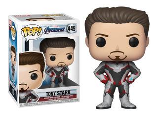 Funko Pop Tony Stark Avengers Endgame #449
