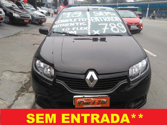 Renault Logan 1.0 Authentique 4p Flex Completo Zerado