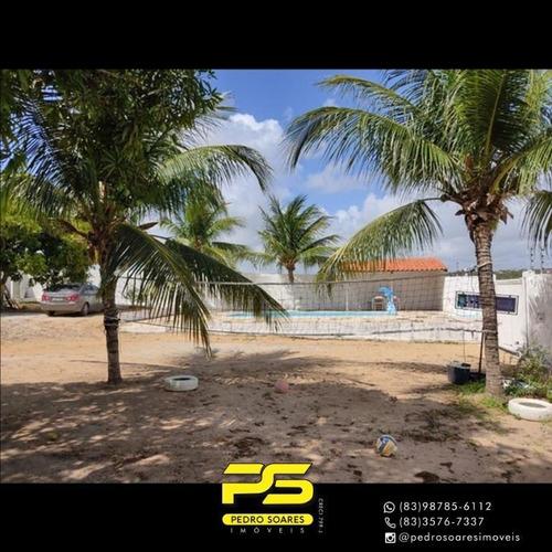 Casa Com 4 Dormitórios Para Alugar, 300 M² Por R$ 5.000/mês - Jacumã - Conde/pb - Ca0876