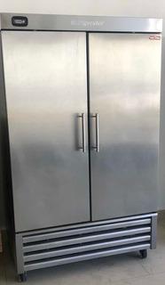 Refrigerador Torrey 40 Pies 2 Puertas 100% Inox