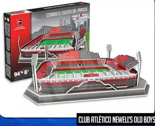 Maqueta Estadio 3d Armada !cancha De Newell's Old Boys