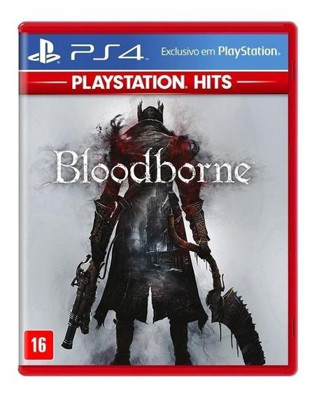 Bloodborne Ps4 Dublado Português Br - Mídia Física - Lacrado