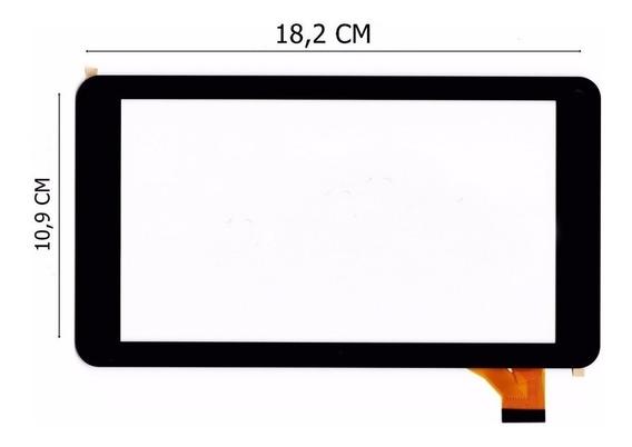 Tela Touch Tablet How Max Quad A0011-c A0011c Preto + 3m